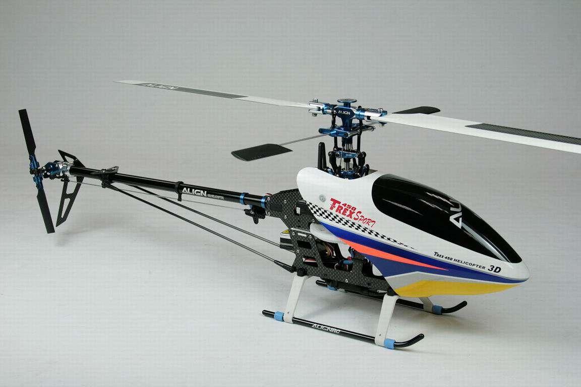 Elicottero Align T Rex 450 : T rex sport