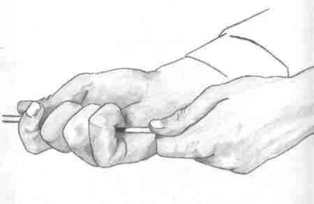 Karakalem El çizimi